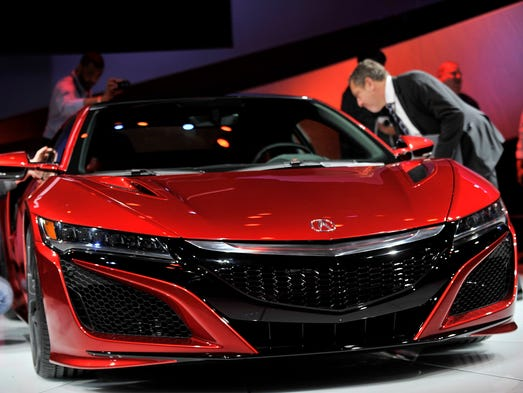 The Acura NSX is a semi-finalist for the North American