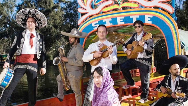 Klezmerson will perform at the WNMU Fine Arts Center Theater on Friday.