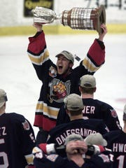 Barrie goalie Brian Finley never panned out at the NHL level with the Predators.