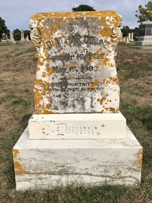 At the conclusion of the Civil War, Captain Abiathar Doane of Harwich took a young slave, Brooks Simmons, home to Harwich. The captain, who died in 1903, is buried in Mount Pleasant Cemetery.