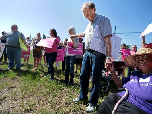 healthcare rally lead art