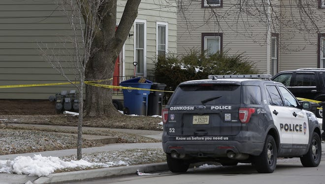 Three people were involved in an early-morning stabbing Friday, April 6, 2018, in the 500 block of Mt. Vernon Street in Oshkosh. An 18-year-old Oshkosh man died from multiple stab wounds, another was hospitalized, and an 18- to 20-year-old Oshkosh man was arrested.