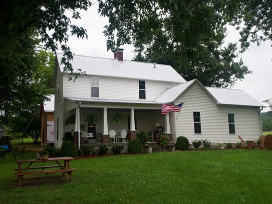Lynn Davis' home that she has renovated in Bethesda,