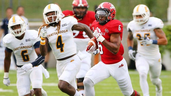 Roc Thomas ran for 20 touchdowns in his two years at Jacksonville State after transferring from Auburn.