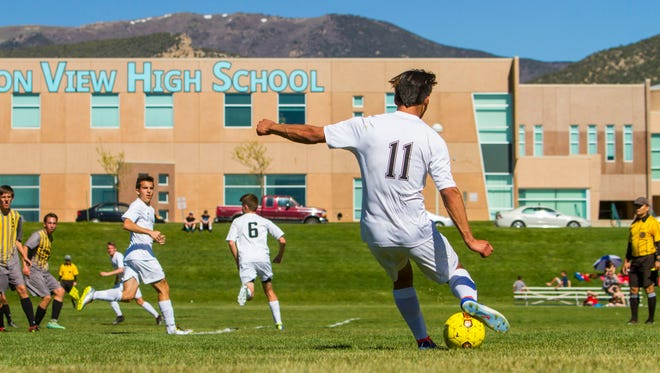 Canyon View fell 2-0 to Logan on Saturday. The loss ended the Falcons' season after winning 14 consecutive games.