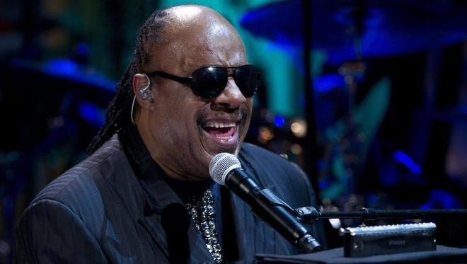 "Stevie Wonder will re-create his landmark album ""Songs in the Key of Life"" in concert at the Palace of Auburn Hills on Nov. 20. Wonder used multiple percussionists, string sections and choirs when he performed the album at a Los Angeles benefit concert in December."