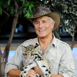 """America's most beloved animal expert, Jack Hanna, will bring his three-time Emmy Award-winning television series to the live stage with into the """"Wild Live!"""" at 3 p.m. Sunday in the Renaissance Theatre."""