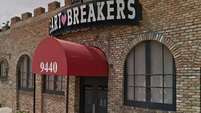 At Heart Breakers, 9442 W. National Ave., the glass in the entrance door was broken by a West Allis man who was kicked out of the establishment shortly after midnight July 11.