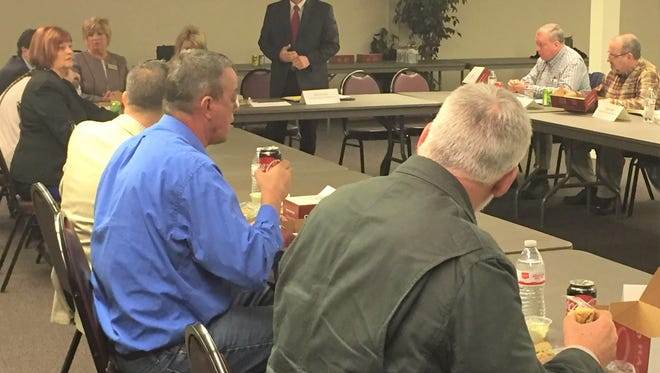 Commissioners from five counties, including Muskingum, Coshocton, Guernsey, Perry and Morgan met Thursday to discuss the possibility of building a regional jail.