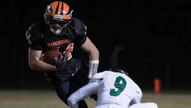 Iola-Scandinavia running back/linebacker Bryce Huetter established himself as one of the top talents in Central Wisconsin as a junior last season.
