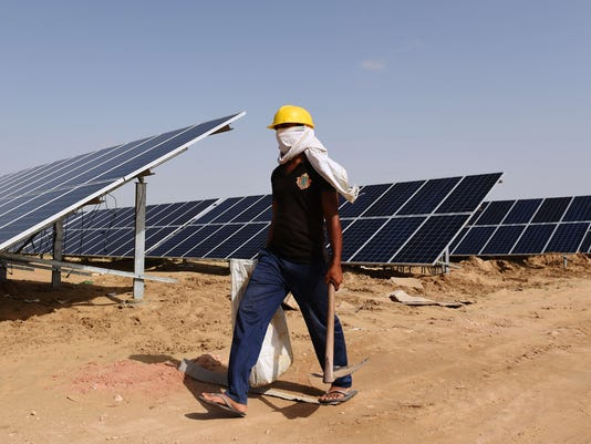 The future looks bright for solar power in India