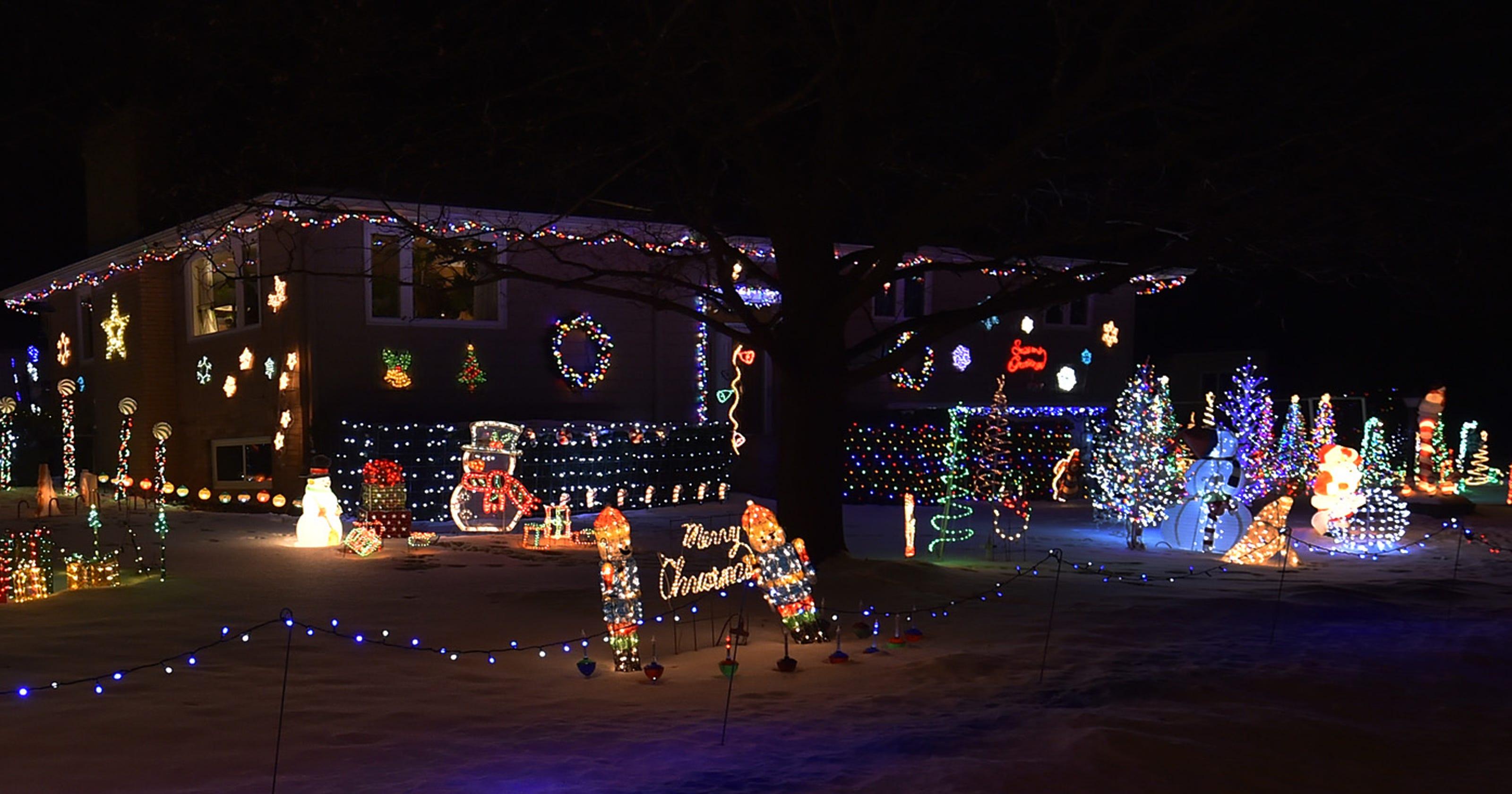 Griswold Christmas Lights.Green Bay Christmas Lights Displays