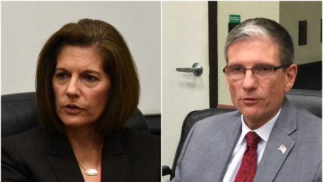 Former Nevada Attorney General Catherine Cortez Masto, a Democrat, is facing Rep. Joe Heck, R-Nev., in the 2016 U.S. Senate race in Nevada.