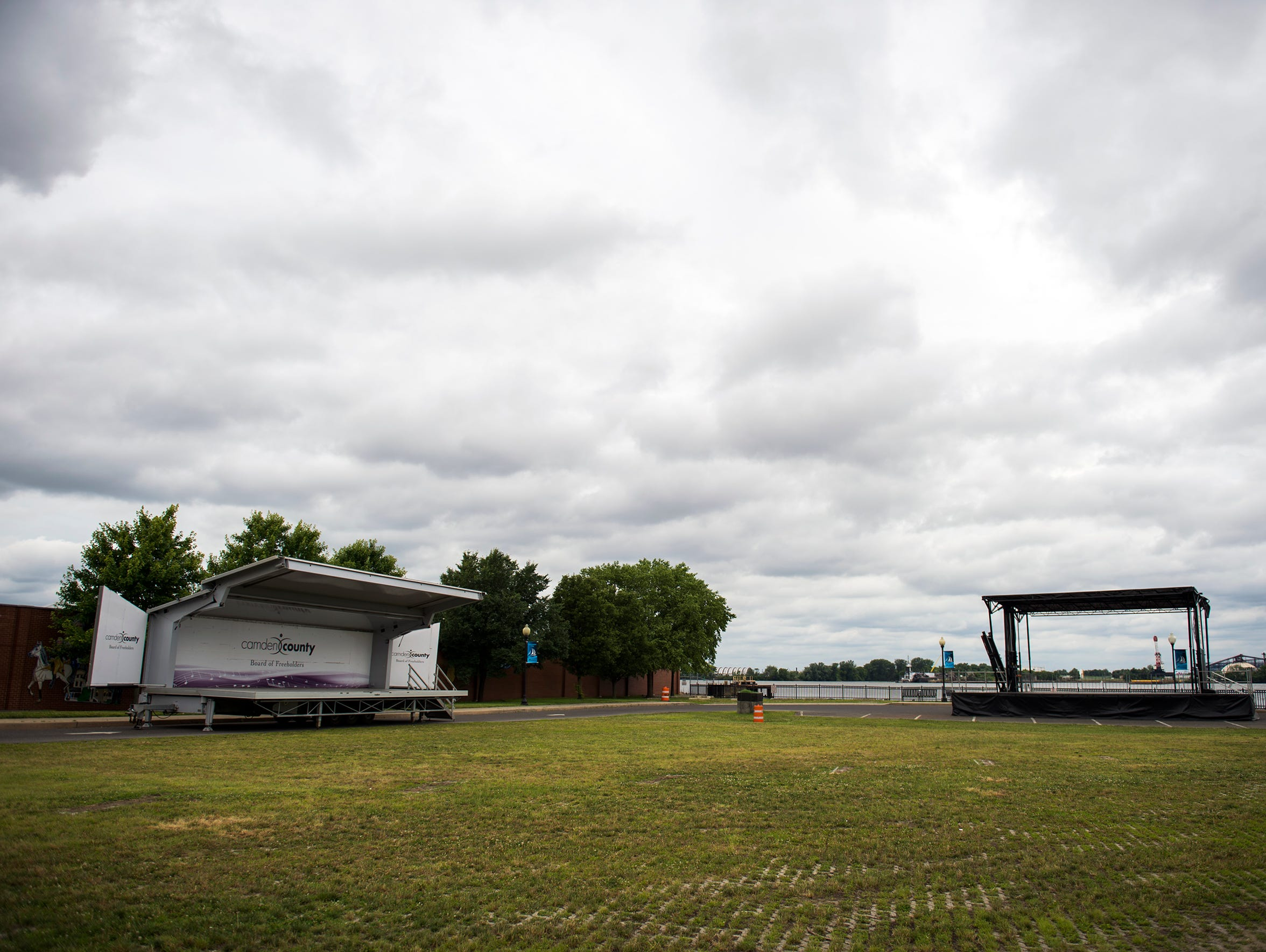 Stages are set at Proprietors Park ahead of 'Not Your
