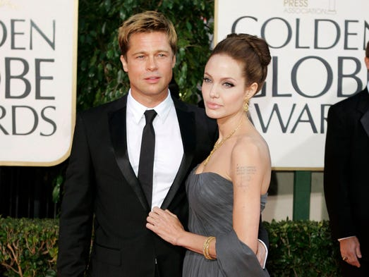 Topping the list of big celebrity breakups in 2016
