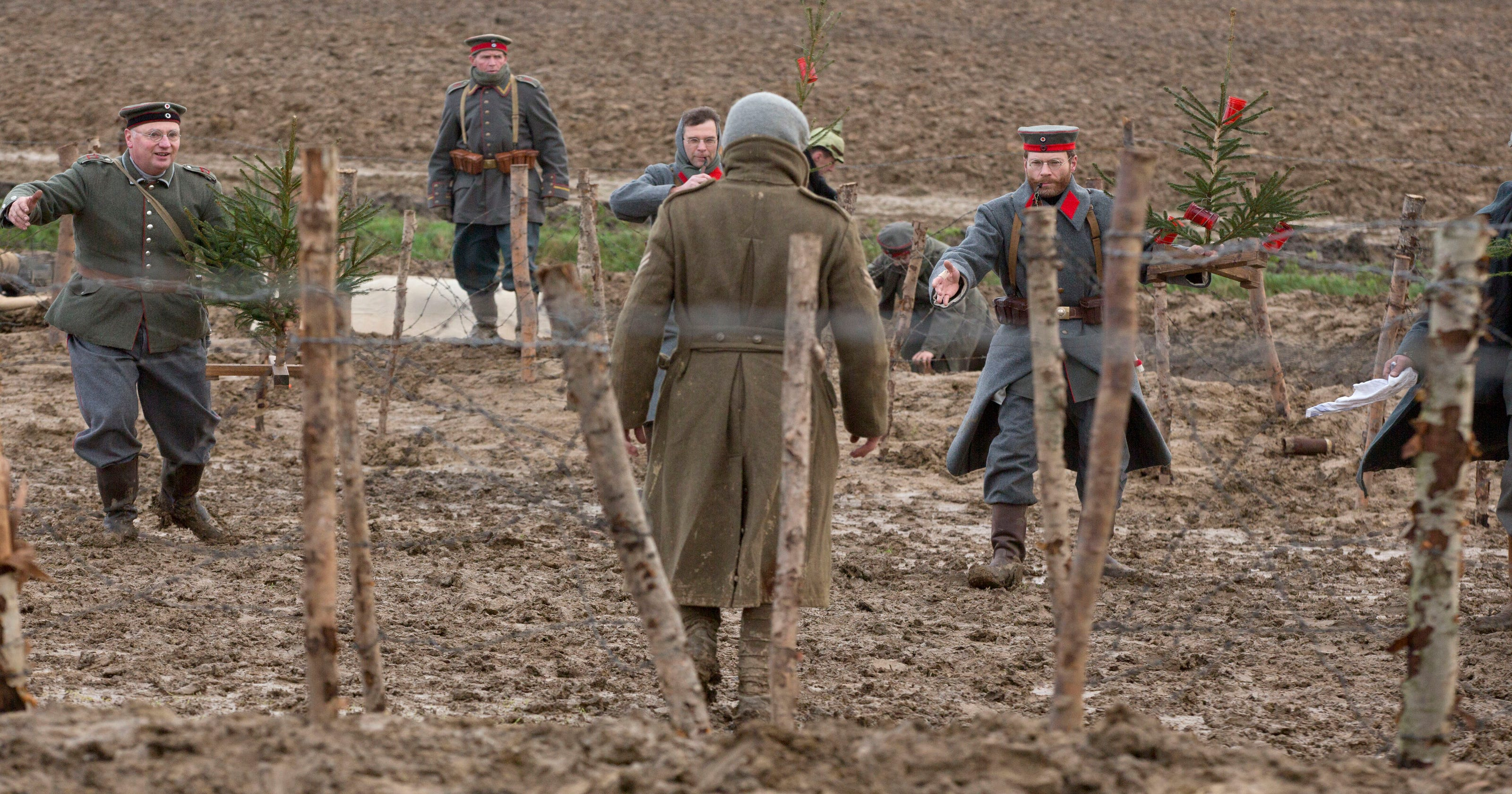 Christmas 1914.Christmas 1914 The Day Even Wwi Showed Humanity