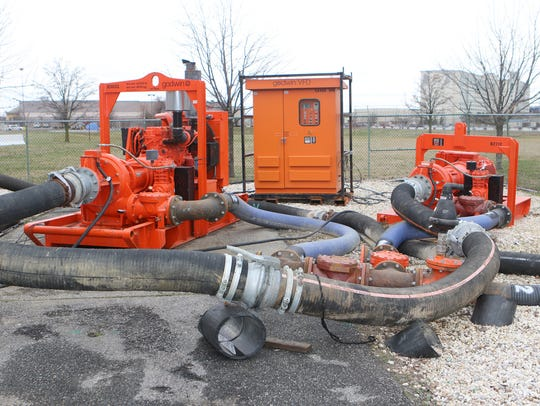 Temporary pumps provided by Kent County and a New Jersey company helped the City of Dover manage sewage flow when six pumps were rendered inoperable at Pump Station #7.