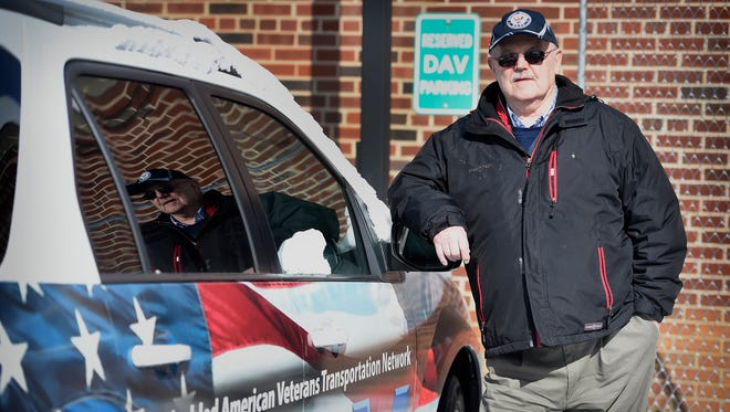 Paul Cress has volunteered more than 19,000 hours at the Lebanon VA Medical Center as the veterans transportation coordinator.