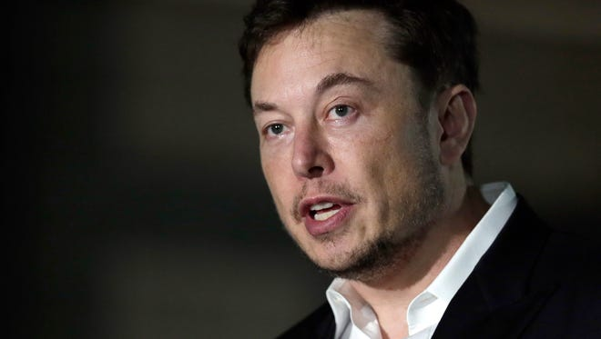 In a Thursday, June 14, 2018 file photo, Tesla CEO and founder of the Boring Company Elon Musk speaks at a news conference, in Chicago.