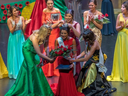 Alexandra Macedo is crowned 2018 Miss Central Valley
