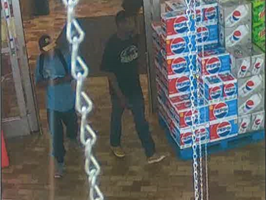 Two suspects left Woodman's before a physical altercation between employees and another suspect.