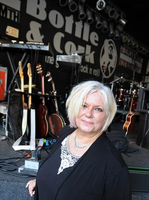 Vikki Walls has been booking acts and entertainment for the Bottle & Cork in Dewey Beach for the past 10 years.