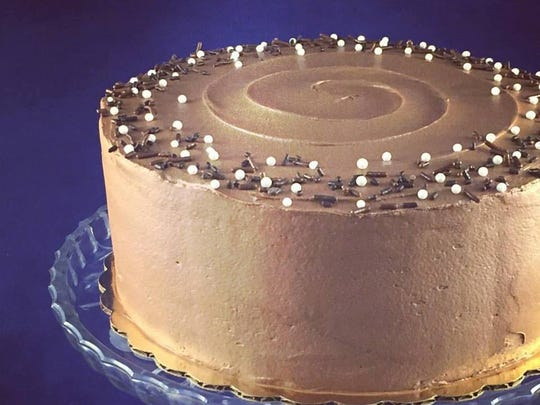 Old Fashioned Chocolate Layer Cake with Chocolate Frosting
