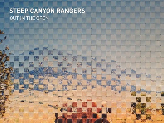 "The Steep Canyon Rangers new album, ""Out in the Open,"""