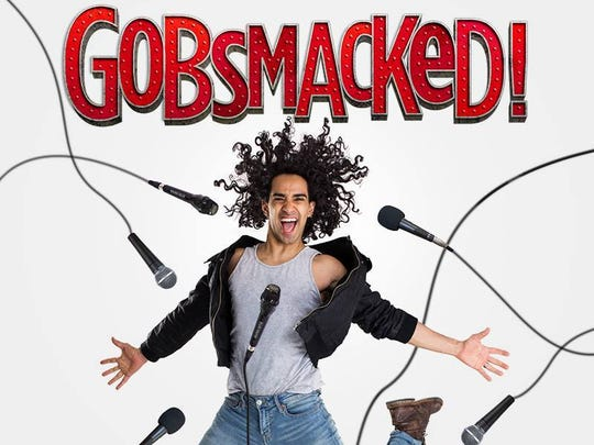 Gobsmacked! will take the stage at The Grand on Feb. 23.