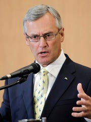 On Friday, March 15, Port Clinton High School will be hosting Jim Tressel, president of Youngstown State University and former head football coach at the Ohio State University.