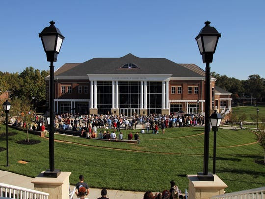 The G. Ross Anderson Jr. Student Center at Anderson University.