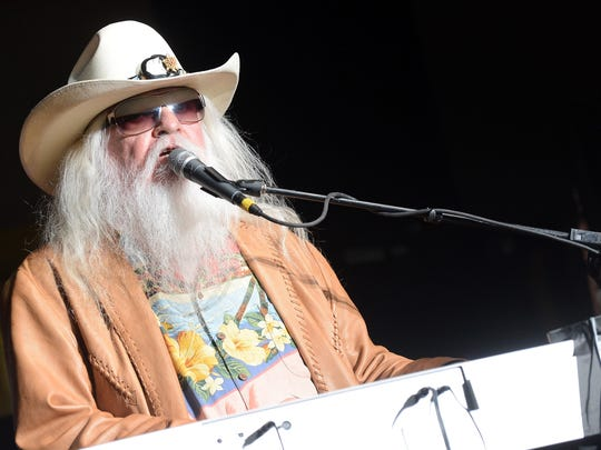 Music legend Leon Russell will be in concert with his band on Oct. 15 at the Meyer Theatre for 91.1 The Avenue show.