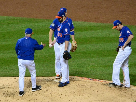 d84f60248 Mets manager Terry Collins second guesses decision to keep Matt ...