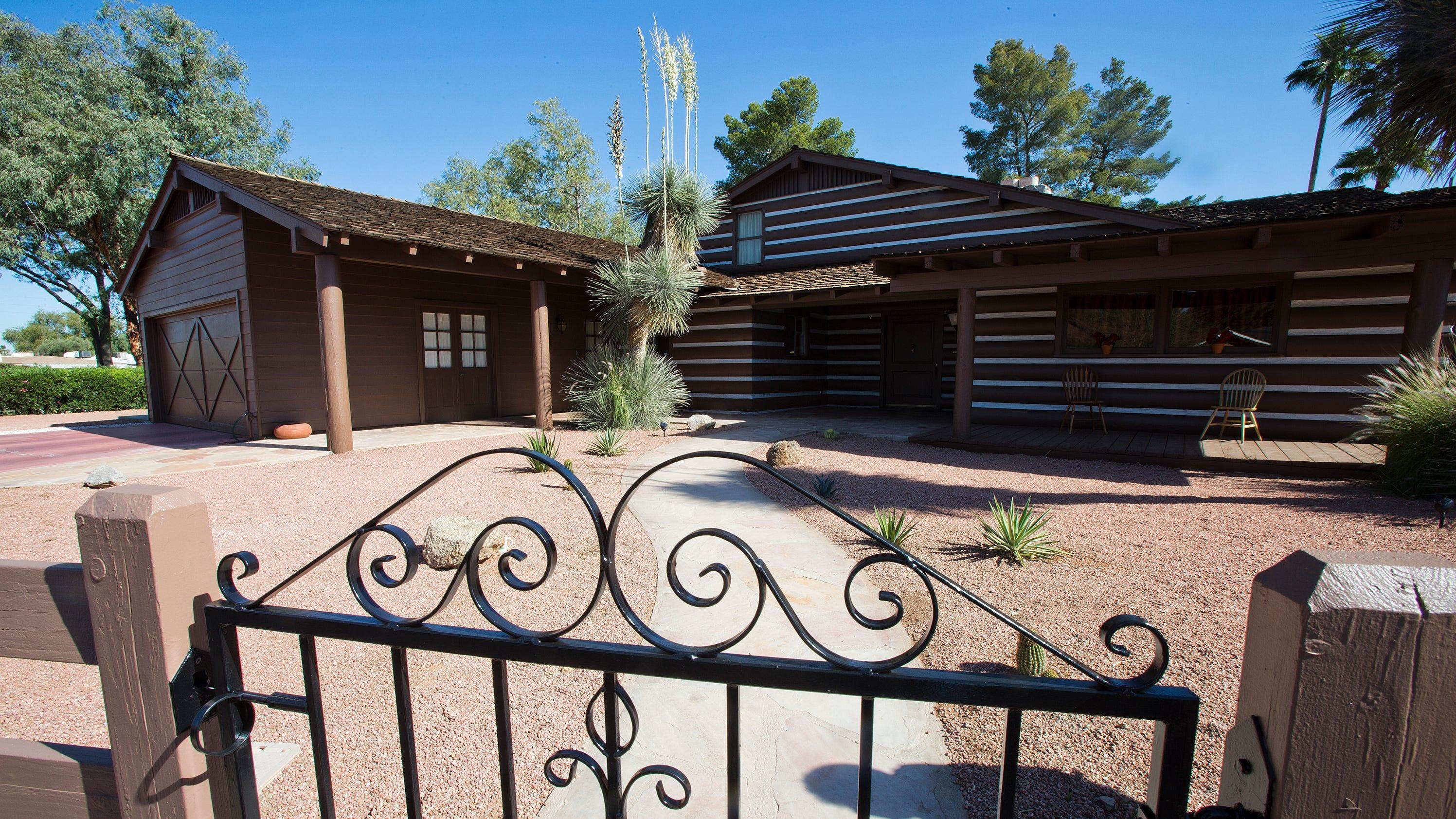 Lorne greene 39 s 39 bonanza 39 house in mesa gets historic for Ponderosa ranch house floor plan