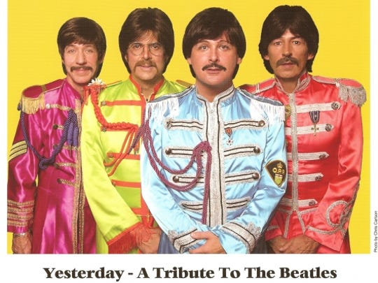 Yesterday, A Tribute to The Beatles will preform Thursday at the Campanile Center.