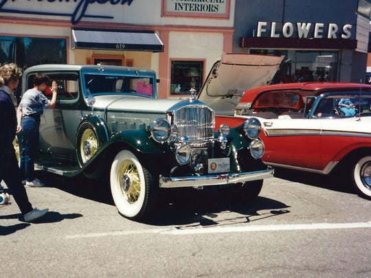 Photo from the Port Huron car show nearly 20 years ago