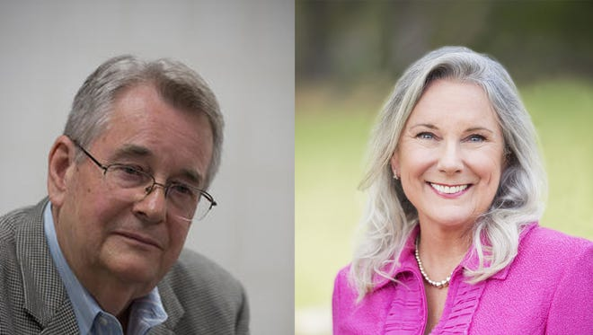 State Sen. Don Gaetz and UWF Provost Martha Saunders are two candidates vying to be president of University of West Florida