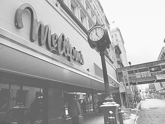 The McAlpin's store on Fourth Street downtown closed in 1996.