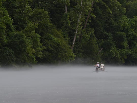 A small group of paralyzed veterans fished the White River on Monday as part of the third annual White River fishing trip for Paralyzed Veterans of America. A number of area fishing guides, led by Tim Curtis of Hotdawg Guide Service, volunteered their time to take the veterans fishing.