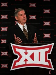 Big 12 commissioner Bob Bowlsby has concerns about