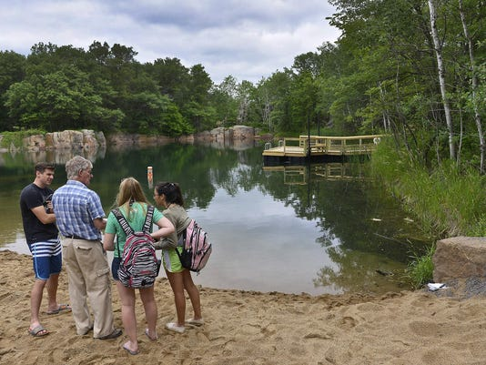 Jump in: Quarry Park's new swimming spot opens Tuesday