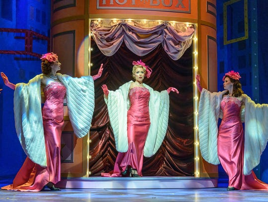 """Marissa McGowan, shown performing in """"Guys and Dolls"""""""