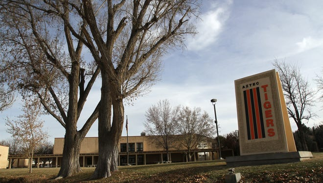 A child sexual abuse charge against an Aztec High School teacher was dismissed Thursday.