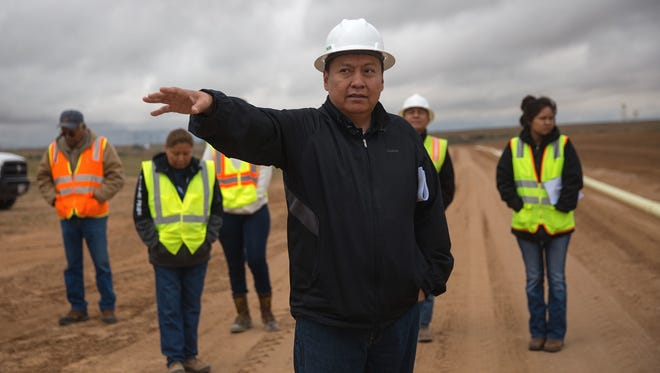 Navajo Agricultural Products Industry Chief Executive Officer Wilton Charley has been suspended by the organization's board pending the outcome of an internal investigation.