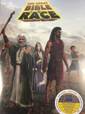 The Great Bible Race is available at greatbiblerace.com