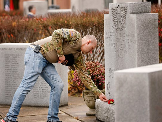 Army Reserve of the National Guard veteran John Hathaway,