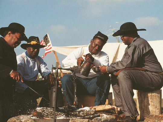 Mustang Island State Park, 5 miles north on State Hwy. 361, will host the Texas Buffalo Soldiers heritage and outreach program from 10 a.m. to 5 p.m. Saturday, May 27. This is a traveling group of Buffalo Soldier re-enactors who will set up camp at the park and offer historical insights into the exploits of the real Buffalo Soldiers with an interactive presentation. Cost: Included with general park admission, $5 adults/kids 12 and under free. Information: 361-749-5246 www.tpwd.texas.gov/state-parks/mustang-island.