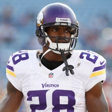 Adrian Peterson has been placed on the commissioner's exempt list.