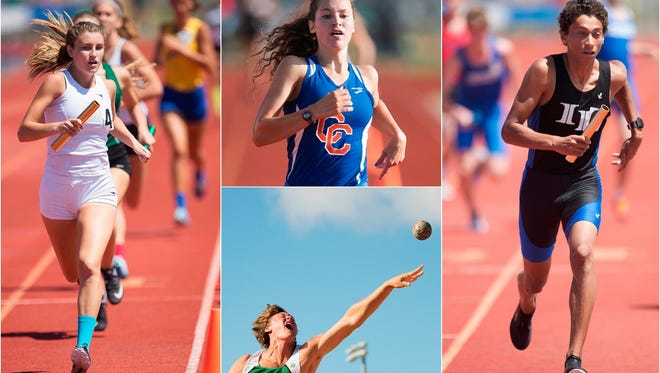 Action from the Class 3A Regional track and field meet on Thursday at Charlotte High School in Punta Gorda.