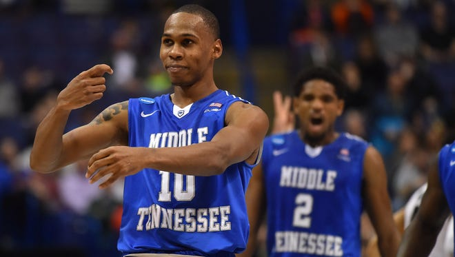 Jaqawn Raymond helped contribute to one of MTSU's top moments this year.